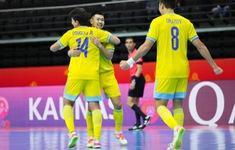 ĐT Futsal Kazakhstan 7-0 ĐT Thái Lan | Thắng thuyết phục, Kazakhstan ghi tên mình vào tứ kết