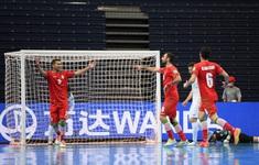 VIDEO  Highlights | ĐT Uzbekistan 8-9 ĐT Iran | Vòng 1/8 FIFA Futsal World Cup Lithuania 2021™