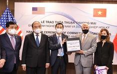 Doanh nghiệp Hoa Kỳ ký kết hợp tác trị giá hàng triệu USD về sinh phẩm, vaccine với Việt Nam