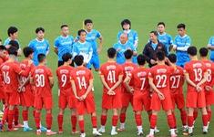 ĐT Việt Nam tăng cường rèn kỹ chiến thuật, chuẩn bị cho trận đấu gặp ĐT Trung Quốc