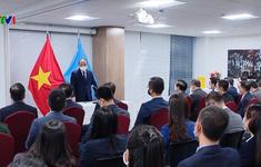 Chủ tịch nước gặp mặt các cơ quan đại diện của Việt Nam tại Hoa Kỳ