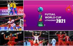 Lịch thi đấu và trực tiếp vòng tứ kết FIFA Futsal World Cup Lithuania 2021™: Chờ đợi chung kết sớm Nga-Argentina, Tây Ban Nha-Bồ Đào Nha