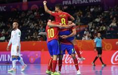 VIDEO Highlights | ĐT Tây Ban Nha 5-2 ĐT CH Séc | Vòng 1/8 FIFA Futsal World Cup Lithuania 2021™