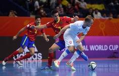 KT | ĐT Tây Ban Nha 5-2 ĐT CH Séc: Nỗ lực bất thành! | Vòng 1/8 FIFA Futsal World Cup Lithuania 2021™