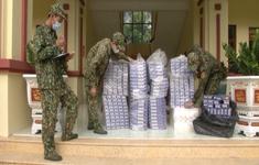 Bắt liên tiếp 3 vụ buôn lậu hơn 3.000 gói thuốc lá chỉ trong 1 đêm