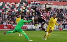 Vòng 6 Ngoại hạng Anh: Brentford gây bất ngờ với trận hòa quả cảm trước Liverpool