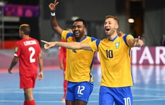 TRỰC TIẾP FUTSAL | ĐT Ma Rốc 0-0 ĐT Brazil: Hiệp 1 | Tứ kết FIFA Futsal World Cup Lithuania 2021™