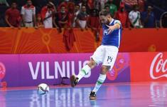 VIDEO Highlights | ĐT Ma Rốc 0-1 ĐT Brazil | Tứ kết FIFA Futsal World Cup Lithuania 2021™