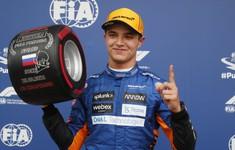 Lando Norris giành pole tại GP Nga