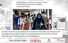 Số ca mắc mới hàng ngày ở Singapore  tăng vọt, dự kiến có thể tới mốc 3.200