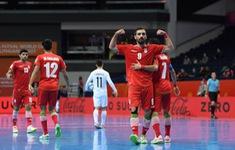 TRỰC TIẾP FUTSAL | ĐT Iran 2-0 ĐT Kazakhstan: Dứt điểm hiệu quả!