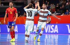 Tây Ban Nha 2-4 Bồ Đào Nha | Thắng kịch tính, Bồ Đào Nha giành vé vào bán kết FIFA Futsal World Cup Lithuania 2021™