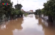 Nghệ An: Nhiều nhà dân bị ngập do mưa lũ