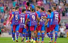 Barcelona thắng tưng bừng Levante trong ngày vắng Koeman
