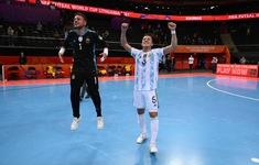 FIFA Futsal World Cup Lithuania 2021™ | Xác định cặp đấu bán kết đầu tiên: ĐT Brazil - ĐT Argentina