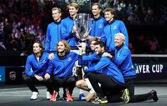ĐT châu Âu vô địch giải quần vợt Laver Cup 2021