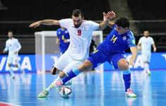 VIDEO Highlights | ĐT Iran 2-3 ĐT Kazakhstan | Tứ kết FIFA Futsal World Cup Lithuania 2021™