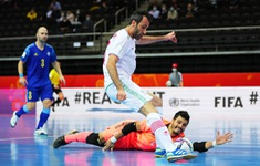 KT | ĐT Iran 2-3 ĐT Kazakhstan: Ngược dòng ngoạn mục! (Tứ kết FIFA Futsal World Cup Lithuania 2021™)