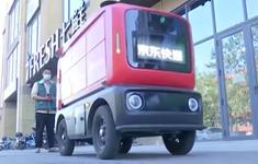 Robot giao hàng ngày càng phổ biến tại Trung Quốc