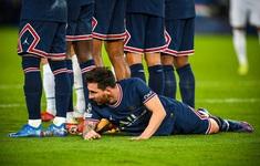 Hình ảnh ấn tượng của Messi trong trận thắng Man City