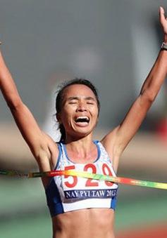 Vượt qua bệnh tim, Phạm Thị Bình giật HCV điền kinh