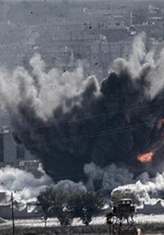 Liên quân quốc tế đẩy mạnh không kích IS