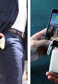 AMPY - Sạc điện thoại bằng chuyển động của cơ thể