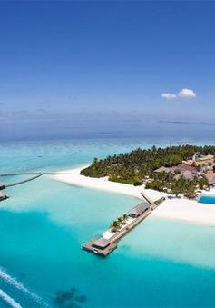 Ngắm khu nghỉ dưỡng thiên đường ở Maldives