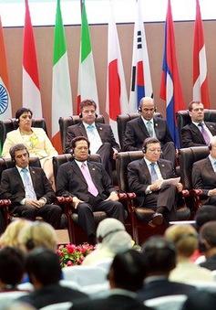 """Hội nghị ASEM 10: """"Đối tác trách nhiệm vì tăng trưởng và an ninh bền vững"""""""
