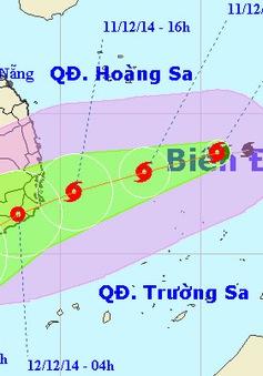 Người dân Nam Trung Bộ ứng phó với bão số 5