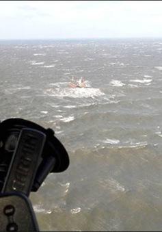 Tàu cá Hàn Quốc chìm ở gần vùng biển của Nga
