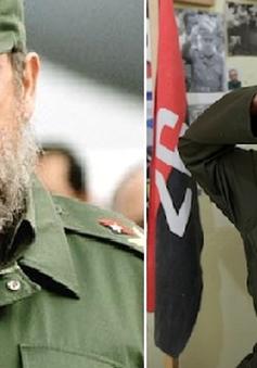 Cậu bé 8 tuổi may mắn được gặp thần tượng Fidel Castro