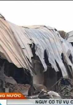 Chữa các đám cháy có hóa chất tiềm ẩn nhiều nguy cơ