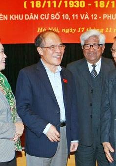 Chủ tịch Quốc hội dự ngày hội Đại Đoàn kết ở Phường Trần Hưng Đạo