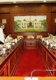 Tiểu ban văn kiện Đại hội XII của Đảng làm việc tại TP.HCM