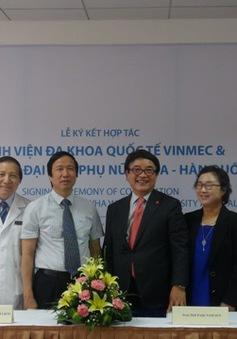 Vinmec hợp tác với Bệnh viện Đại học y hàng đầu Hàn Quốc
