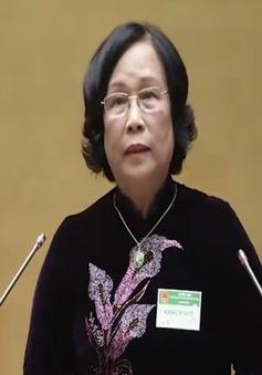 VIDEO: Bộ trưởng Bộ LĐ-TB&XH trả lời chất vấn