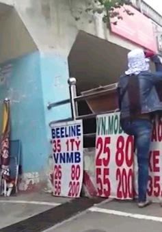 TP HCM: Hầm chui giảm ùn tắc Tân Tạo biến thành... chợ