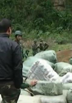 Lạng Sơn: Bắt lô hàng may mặclậu trị giá hơn 4 tỷ đồng