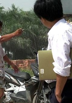 Phóng viên ANTV bị hành hung tại Hải Phòng