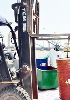 Đã xử lý lô dầu PCB độc hại theo quy trình nghiêm ngặt