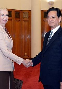 Thủ tướng tiếp Đại sứ Na Uy