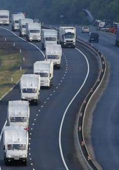 Nga chuẩn bị gửi đoàn xe cứu trợ thứ hai đến Ukraine