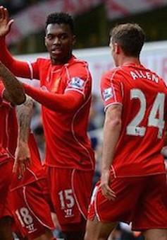 Tottenham 0-3 Liverpool: Nhuộm đỏ White Hart Lane