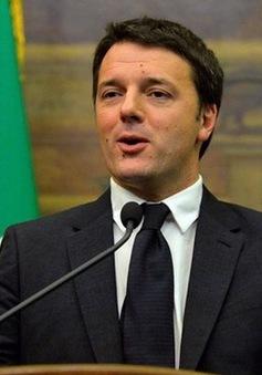 Uy tín của Thủ tướng Renzi xuống thấp kỷ lục