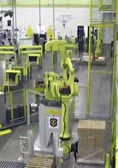 Robot vận chuyển lượng hàng hóa khổng lồ