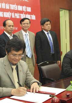 VTV và Bộ NN&PTNT đẩy mạnh hợp tác truyền thông