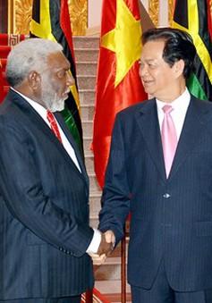 Thủ tướng Nguyễn Tấn Dũng hội đàm với Thủ tướng CH Vanuatu