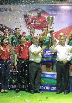 BIDV Manchester United Cup 2014: Minh Tân FC lên ngôi vô địch