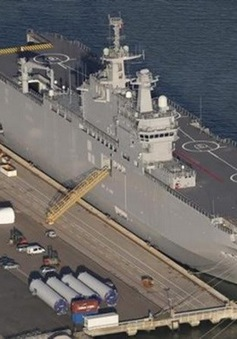 Pháp hoãn bàn giao tàu chiến cho Nga vô thời hạn